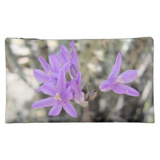 Small Purple flowers Makeup Bags