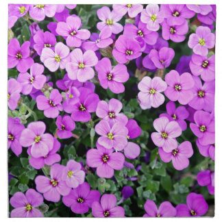 Small Purple Flowers Napkin
