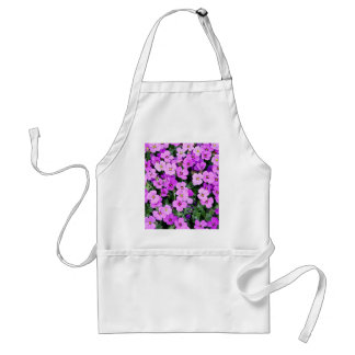 Small Purple Flowers Standard Apron