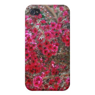 Small Red Flowers 2 Case For The iPhone 4