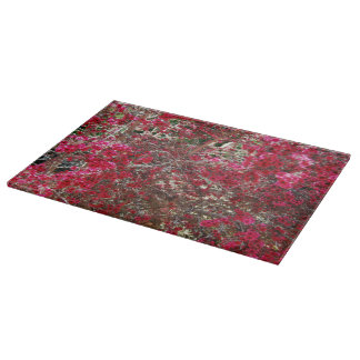 Small Red Flowers Cutting Boards