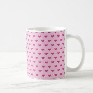 Small Red Hearts Coffee Mug