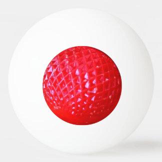 Small Red LED Christmas Light Bulb Ping Pong Ball