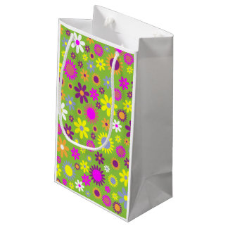 Small Retro Floral Gift bag