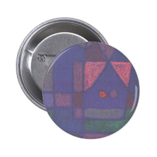 Small room in Venice by Paul Klee 6 Cm Round Badge