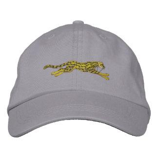 Small Running Cheetah Embroidered Baseball Cap