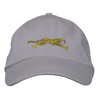 Small Running Cheetah Embroidered Hat