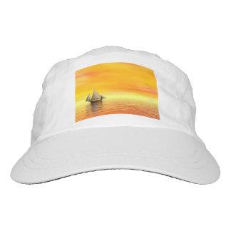 Small sailboat - 3D render Hat