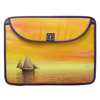 Small sailboat - 3D render Sleeve For MacBooks