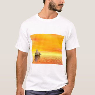 Small sailboat - 3D render T-Shirt