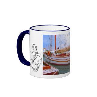 Small sailing boats, Southampton boat show Mug