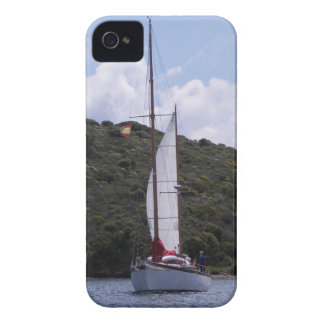 Small Sailing Ketch iPhone 4 Cover