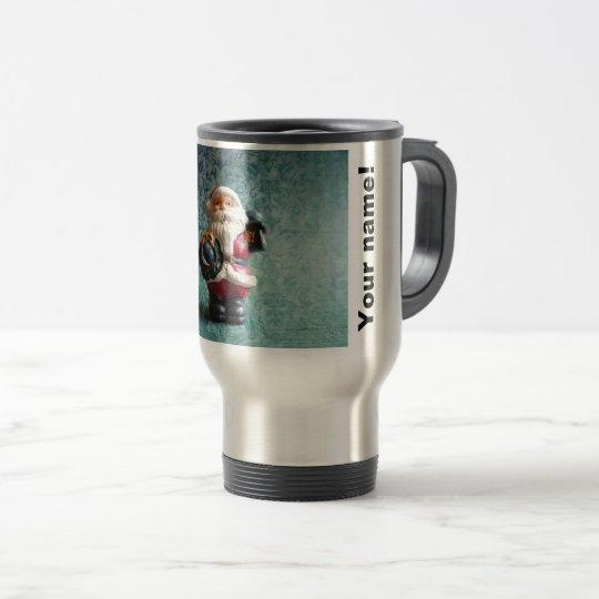 Small Santa Claus figure (P) Travel Mug