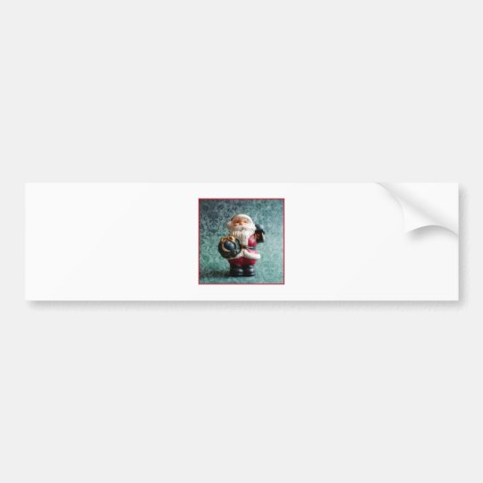 Small Santa Claus figure_R1 Bumper Sticker