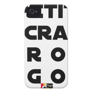 Small screen, LARGE EGOS - Word games iPhone 4 Case-Mate Cases