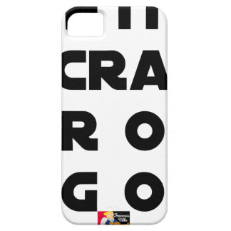 Small screen, LARGE EGOS - Word games iPhone 5 Cover