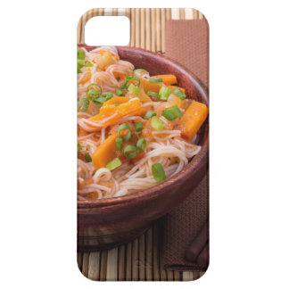 Small serving of rice vermicelli hu-teu with veget iPhone 5 case