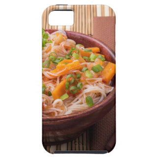 Small serving of rice vermicelli hu-teu with veget iPhone 5 covers