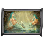 Small Serving Tray Mermaids