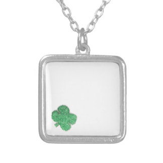 Small Shamrock Personalized Necklace