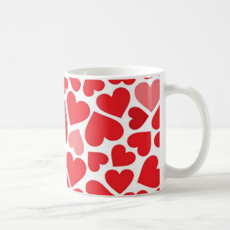 Small St. Valentine's day hearts - Coffee Mugs