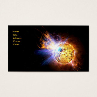 Small Star Large Flare Business Card