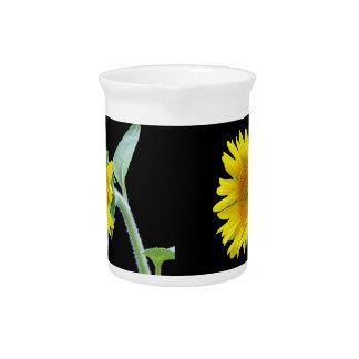 Small Sunflower Beverage Pitchers