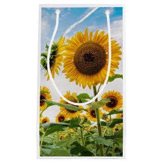 Small Sunflower Giftbag Small Gift Bag