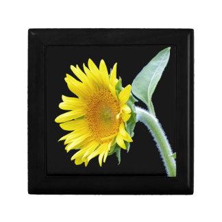 Small Sunflower Small Square Gift Box