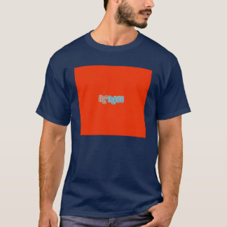 Small t-shirt navy blue frontal
