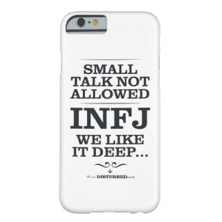 Small Talk Not Allowed: We Like It Deep Barely There iPhone 6 Case