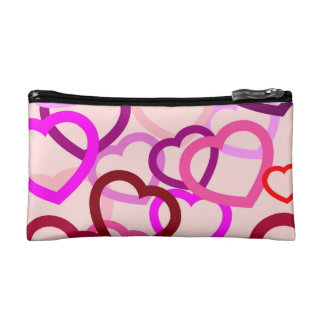 "Small""tangled heart"" Cosmetic  Bag"