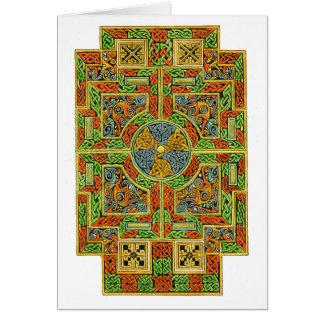 Small Tau Cross Celtic Card