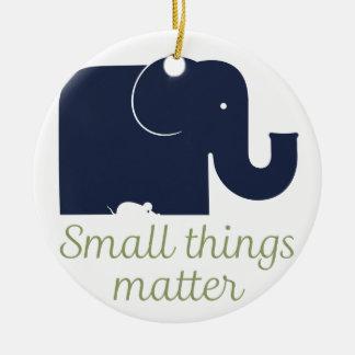 Small things matter.pdf christmas tree ornament