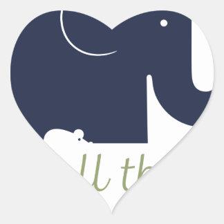 Small things matter.pdf heart sticker