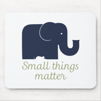 Small things matter.pdf mouse pad