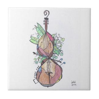 small tile:  cello tile