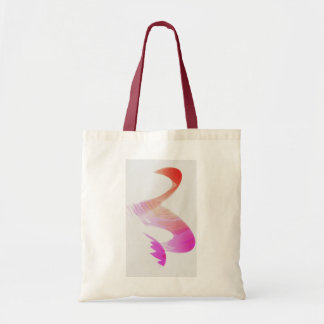 Small tote bag with drawing
