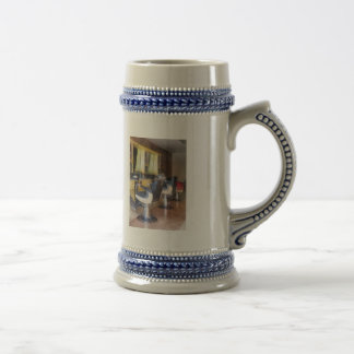 Small Town Barber Shop Coffee Mugs