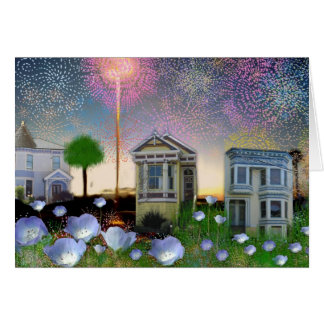 Small town fireworks  ~  TBA Awarded! Card