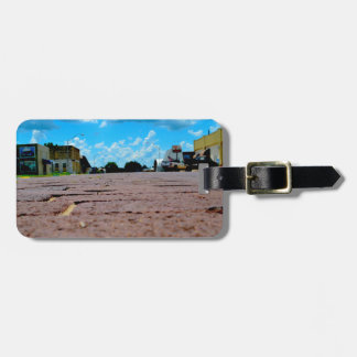 Small Town Main Street Luggage Tag