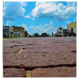 Small Town Main Street Napkin