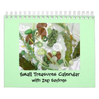 Small Treasures with Zen Calendars