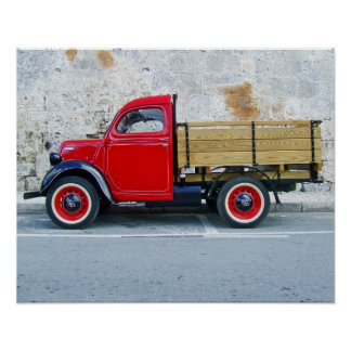 Small truck poster
