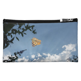 Small Turtoiseshell Butterfly Cosmetic Bag