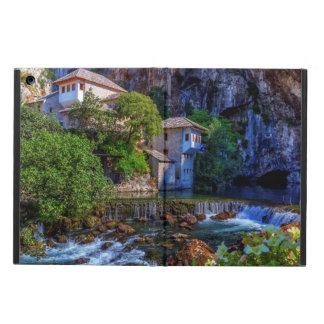 Small village Blagaj on Buna waterfall, Bosnia and Cover For iPad Air