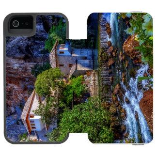 Small village Blagaj on Buna waterfall, Bosnia and Incipio Watson™ iPhone 5 Wallet Case