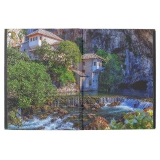 "Small village Blagaj on Buna waterfall, Bosnia and iPad Pro 12.9"" Case"