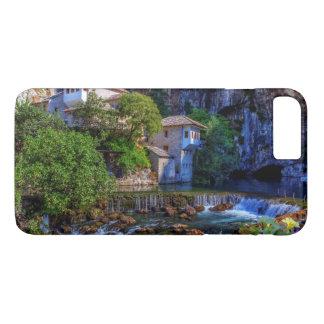 Small village Blagaj on Buna waterfall, Bosnia and iPhone 8 Plus/7 Plus Case