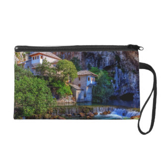 Small village Blagaj on Buna waterfall, Bosnia and Wristlet
